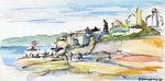 Zeichnung: Mary Maidens Stonecircle