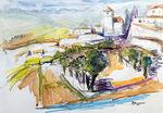 Zeichnung: Andalusien Capildeira 1
