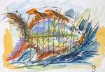 Zeichnung: Fisch